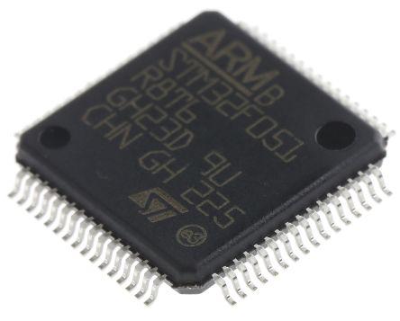 STM32F051R8T6 - ARM マイクロコントローラ - MCU 32-Bit ARM Cortex M0